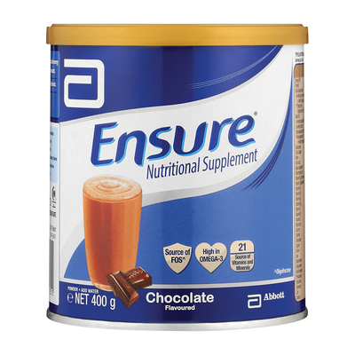Ensure Chocolate Nutritional Supplement 400gm