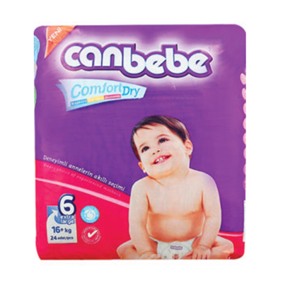 Canbebe Super Extra Large Diaper Size 6 24 Pieces