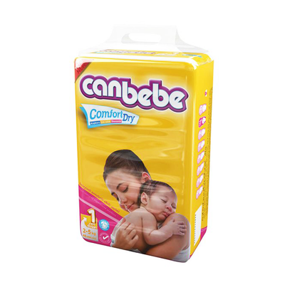 Canbebe New Born Diaper Size 1 48 Pieces