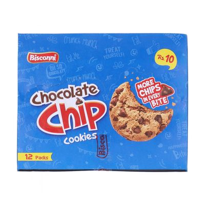 Bisconni Chocolate Chip Cookies 12 Packs
