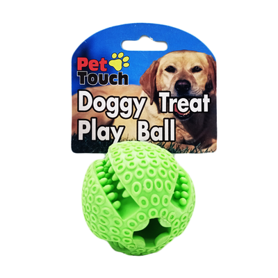 Pet Touch Doggy Treat Play Ball (1 Ball)