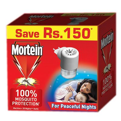 Mortein Mosquito Protection Machine and Refill 25ml (30 Nights)