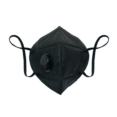 KN95 Face Mask With Filter Black