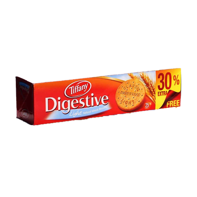 Tiffany Digestive Light Natural Wheat Biscuits 520gm
