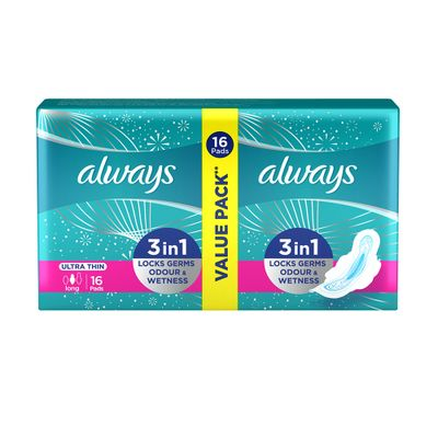 Always Ultra S3 Duo Pack 16 Pads