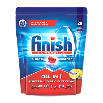 Finish Dish Washer Tablets (28 Tabs)