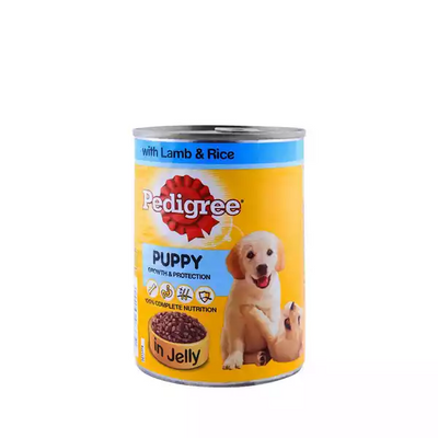 Pedigree puppy in Jelly with Lamb  400gm