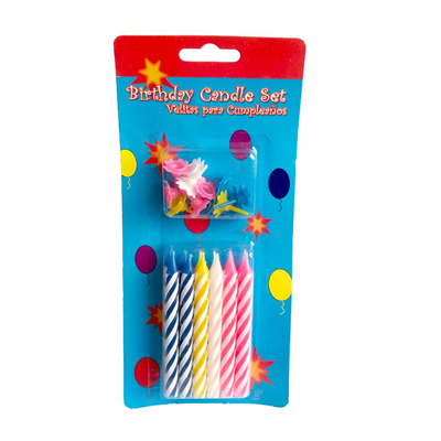 Birthday Candles Set 12 Pieces