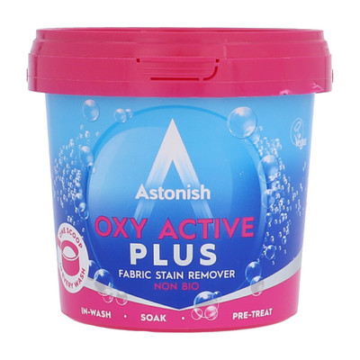 Astonish Oxy Active Plus Fabric Stain Remover 500gm