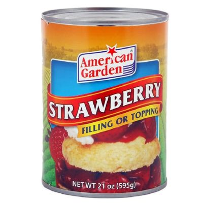American Garden Topping & Filling Strawberry (21 Oz)(502152)