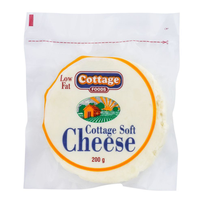 Cottage Low Fat Soft Cheese 200gm