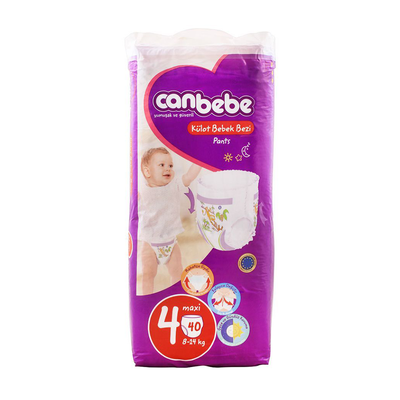 Canbebe Pants Maxi Diaper Size 4, 40 Pieces